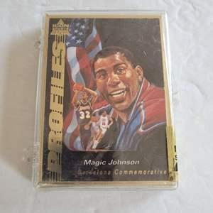Magic Johnson Icon Sports Card Set