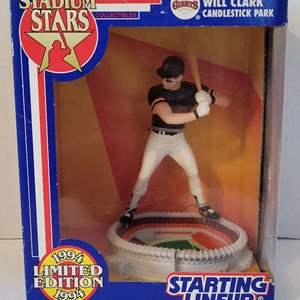 1993 Will Clark Stadium Stars Starting Lineup