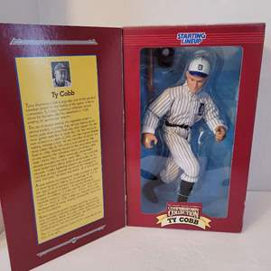 1996 Ty Cobb Cooperstown Collection Starting Lineup
