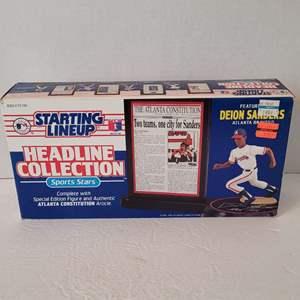 1992 Deion Sanders Headline Collection Starting Lineup