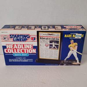 1992 Mark McGwire Headline Collection Starting Lineup