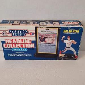 1992 Nolan Ryan Headline Collection Starting Lineup