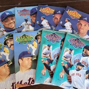 Auction Thumbnail for: 1992 Legends Sports Magazine w/ Uncut Sheet
