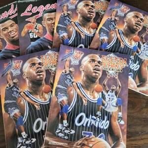 1991/93 Legends Sports Magazine w/ Uncut Sheet