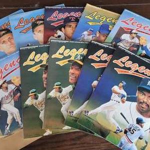 1991 Legends Sports Magazine w/ Uncut Sheet