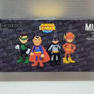 Justice League Mini Hybrid Metal Figures NIB