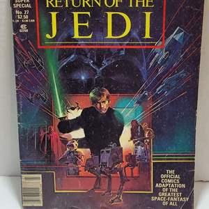 1983 Star Wars Return of The Jedi Comic Book