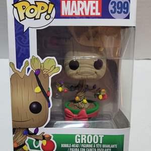 Funko Pop Marvel Groot Vinyl Bobblehead NIB