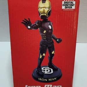2018 San Diego Padres Iron Man Bobblehead NIB
