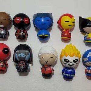 Marvel Superhero Dorbz Vinyl Figures (10)