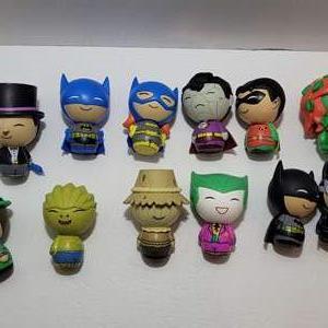 DC Superhero Dorbz Vinyl Figures (12)
