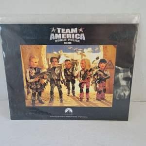 Team America World Police Movie Lobby Card 2005