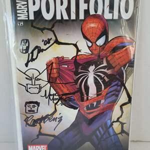 2008 Marvel Portfolio Convention Exclusive Signed Comic 3 Sigs
