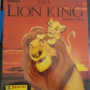 Disneys Lion King Sticker Album and Binder of Cards