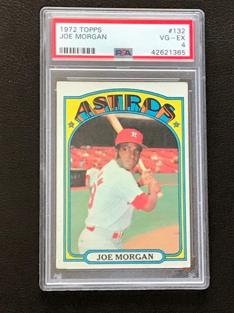 1972 Topps Astros Joe Morgan PSA 4 VG-EX (main image)