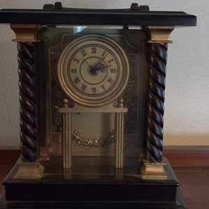 Lot # 2 quartz clock