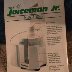 Lot # 59 Juiceman Jr. New in box