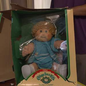 Lot # 60 1984 Cabbage patch doll new in Box
