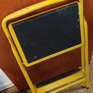 Lot # 76 metal step ladder