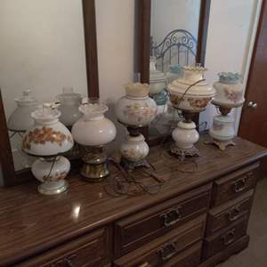 Lot # 85 lot of 5 lamps