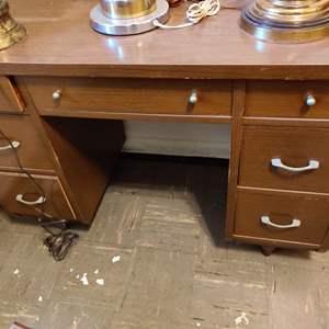 Lot # 103 mid-century desk pretty nice condition