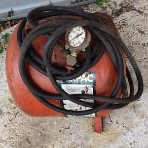 Lot # 151 air tank with hose