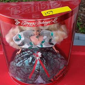 Lot # 157 1995 Barbie special edition holiday new in package