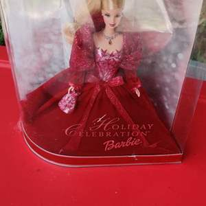 Lot # 159 2003 special edition Holiday Barbie in the box mint
