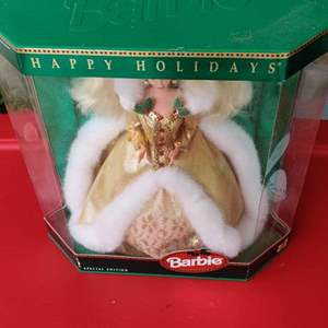 Lot # 160 1994 special edition holiday Barbie inbox