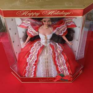 Lot # 161 Lot # 161 1994 special edition holiday Barbie in the box