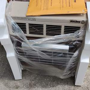 Lot # 170 empire gas infrared heater in the box unused