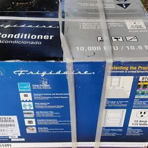 Lot # 171 Frigidaire air conditioner window unit in the box 10000-btu