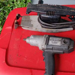 Lot # 175 Lot # 175 reciprocating saw and impact driver electric both Craftsman