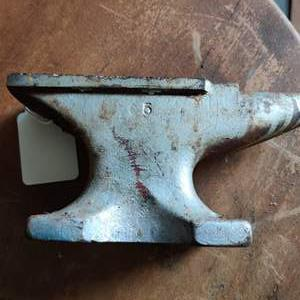 Lot # 182 small anvil Mark number 5