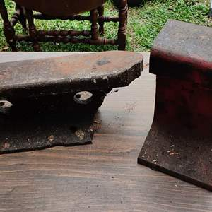 Lot # 183 lot of two anvils