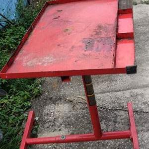 Lot # 186 Lot # 186 very nice all trade work stand on wheels