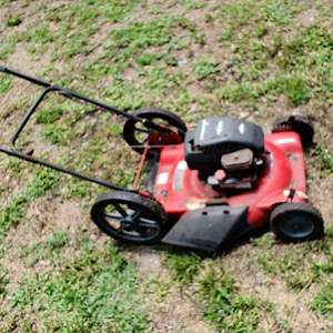 Lot # 190 Murray push mower untested not froze up