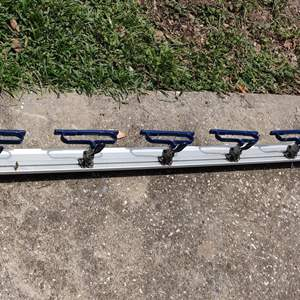 Lot # 195 draw-matic material clamping system 63 in Long like new