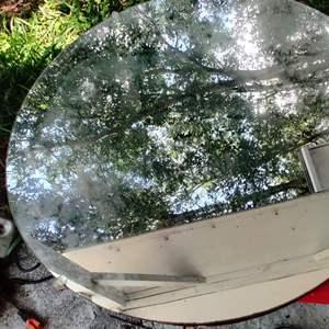 Lot # 200 24 inch round mirror