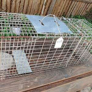 Lot # 209 animal trap 31 in small animals