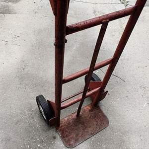 Lot # 215 upright two-wheel dolly solid tires