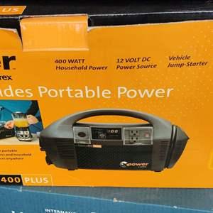 Lot # 238 zantex portable power in box unused