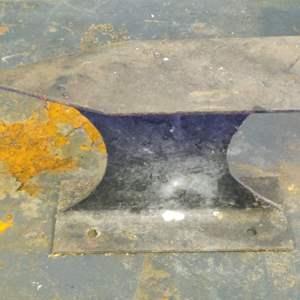 Lot # 239 very light handmade anvil