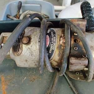 Lot # 250 vintage Sioux 7-inch high-speed grinder works