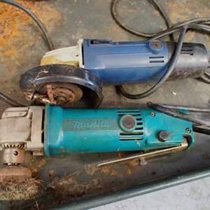 Lot # 251 pair of handheld grinders both work