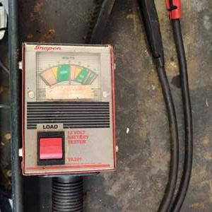 Lot # 271 snap-on battery tester