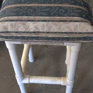 Lot # 280 brand new PVC bar stool I took it out of the plastic to be photographed