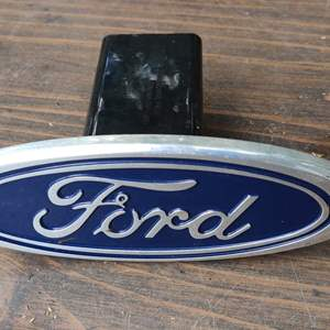Lot # 292 Ford trailer hitch cover very nice