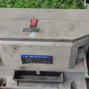 Lot # 295 JCPenney bench grinder works