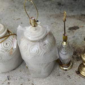 Lot # 300 lot of 4 lamps